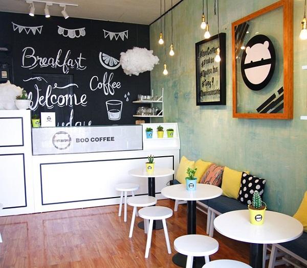 Độc đáo và cuốn hút với quán cafe không gian nhỏ