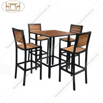 Ghế bar cafe nan cong