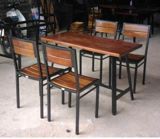 bàn ghế nhà hàng M28