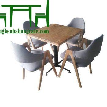 Bàn ghế cafe gỗ đẹp giá rẻ