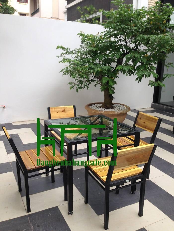 bàn ghế quán cafe giá rẻ tại Hà Nội