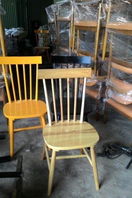 Ghế gỗ tự nhiên cafe nhà hàng