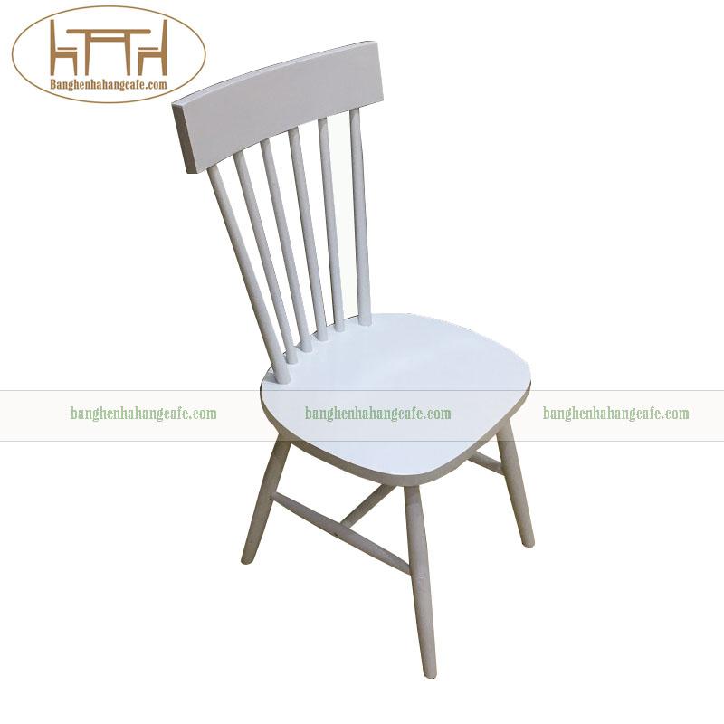 Ghế gỗ cafe trà sữa pinnstol