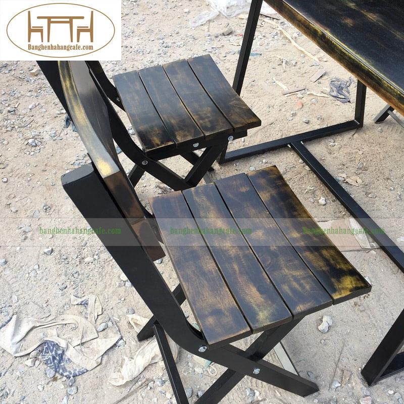 Bàn ghế nhà hàng, cafe HT3110