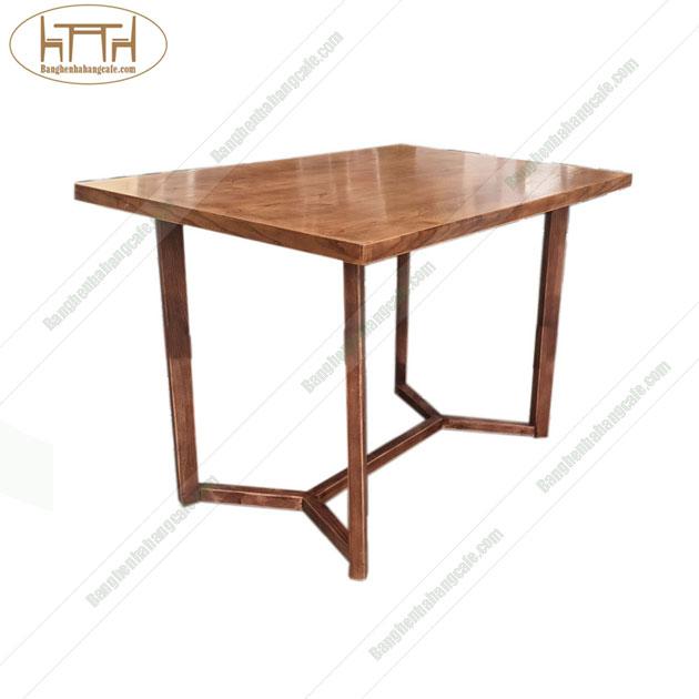 Bàn gỗ nhà hàng phòng ăn cafe