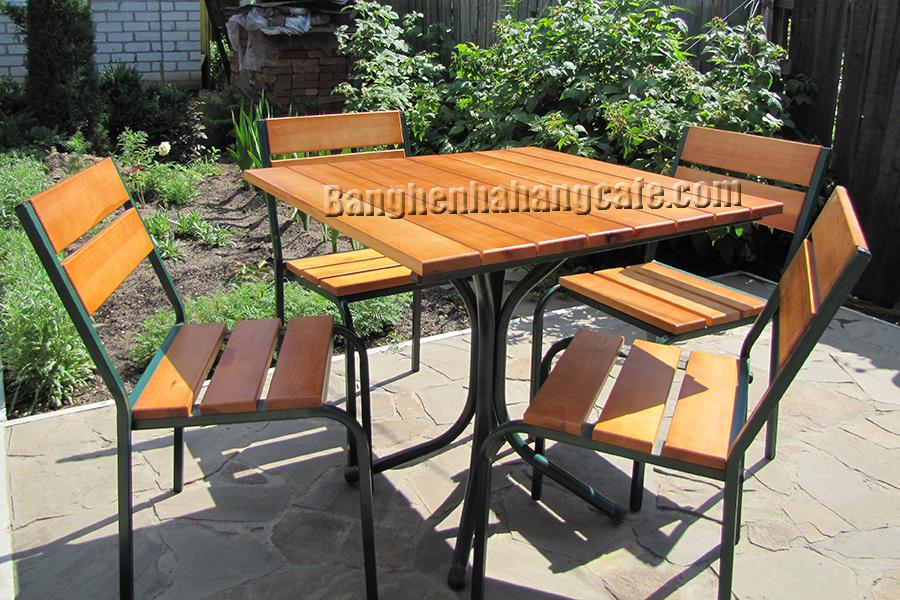 Bàn ghế sân vườn - ngoài trời UK01