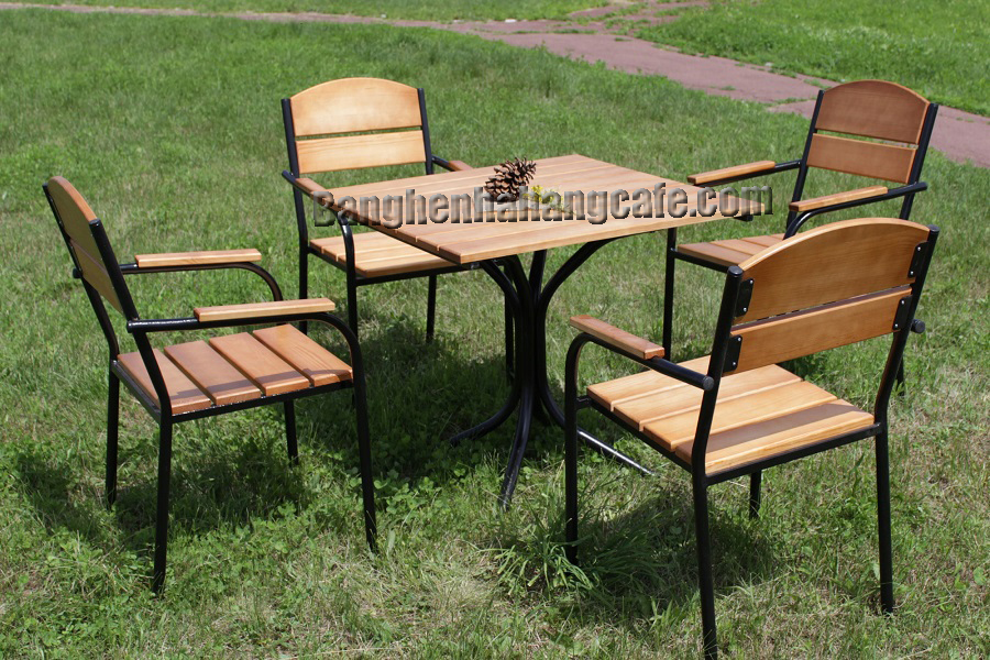 Bàn ghế sân vườn - ngoài trời UK02