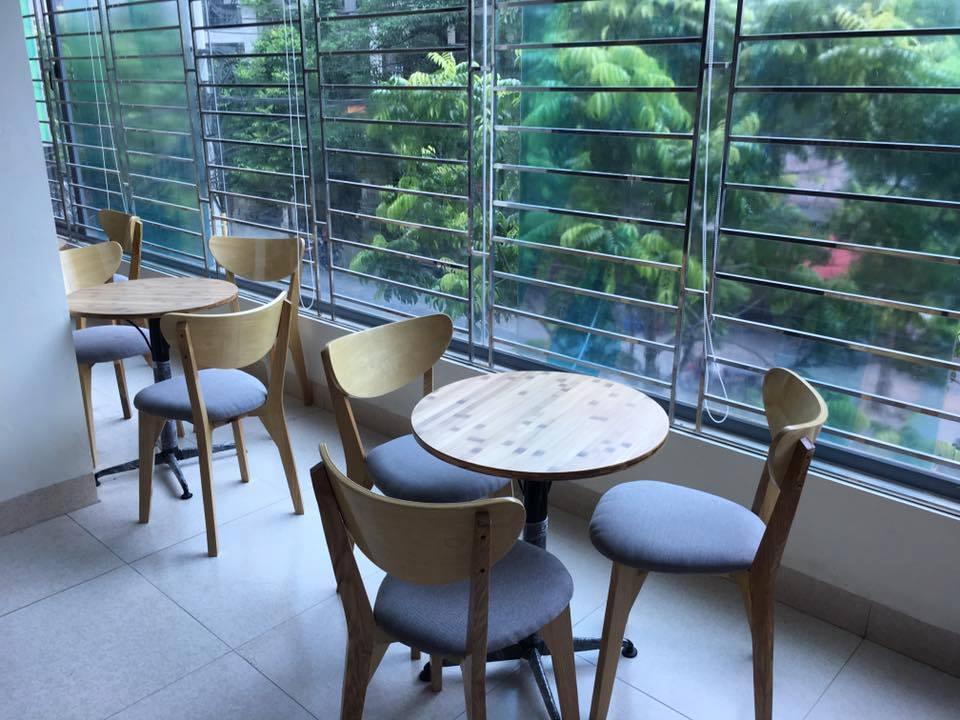 Ghế gỗ cafe UMA