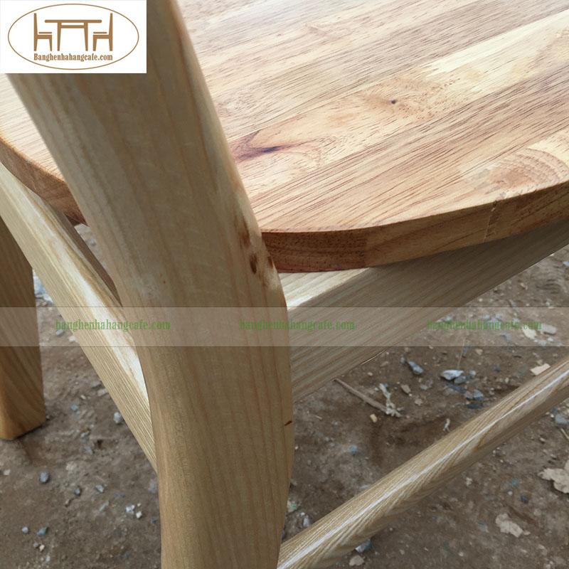ghế gỗ cafe nhà hàng