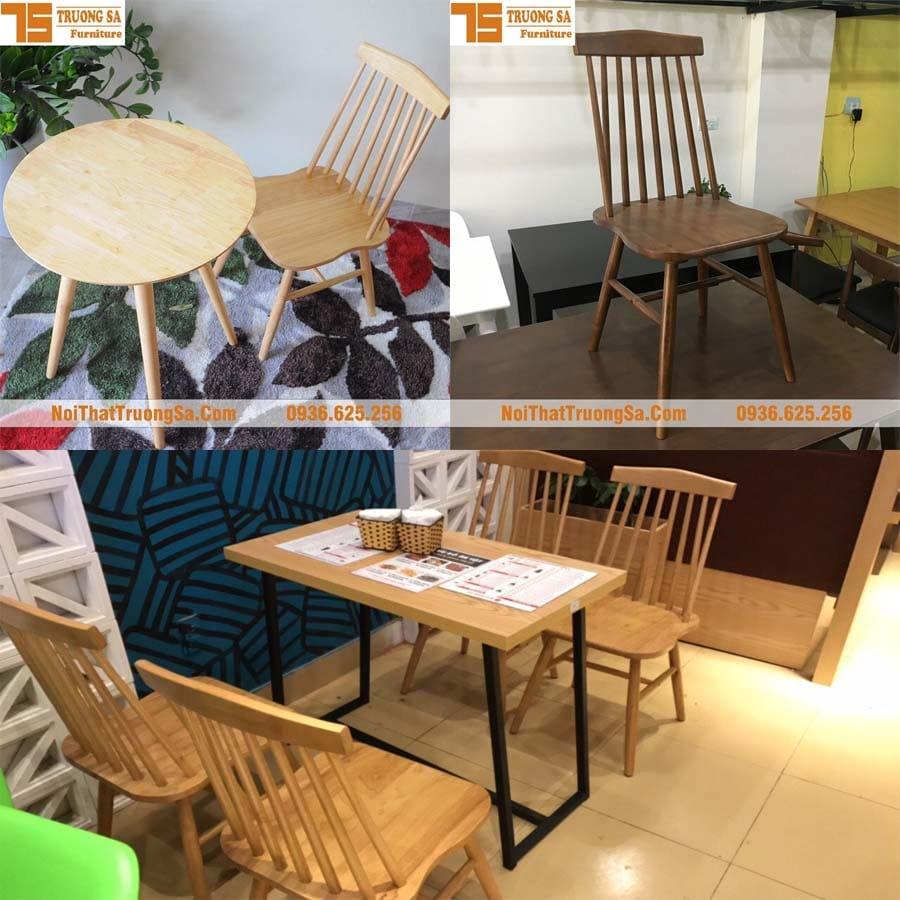 bàn ghế cafe TS154