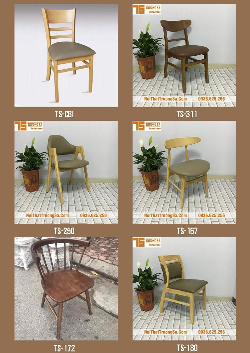 Các mẫu bàn ghế cafe đẹp bằng gỗ xu hướng 2020