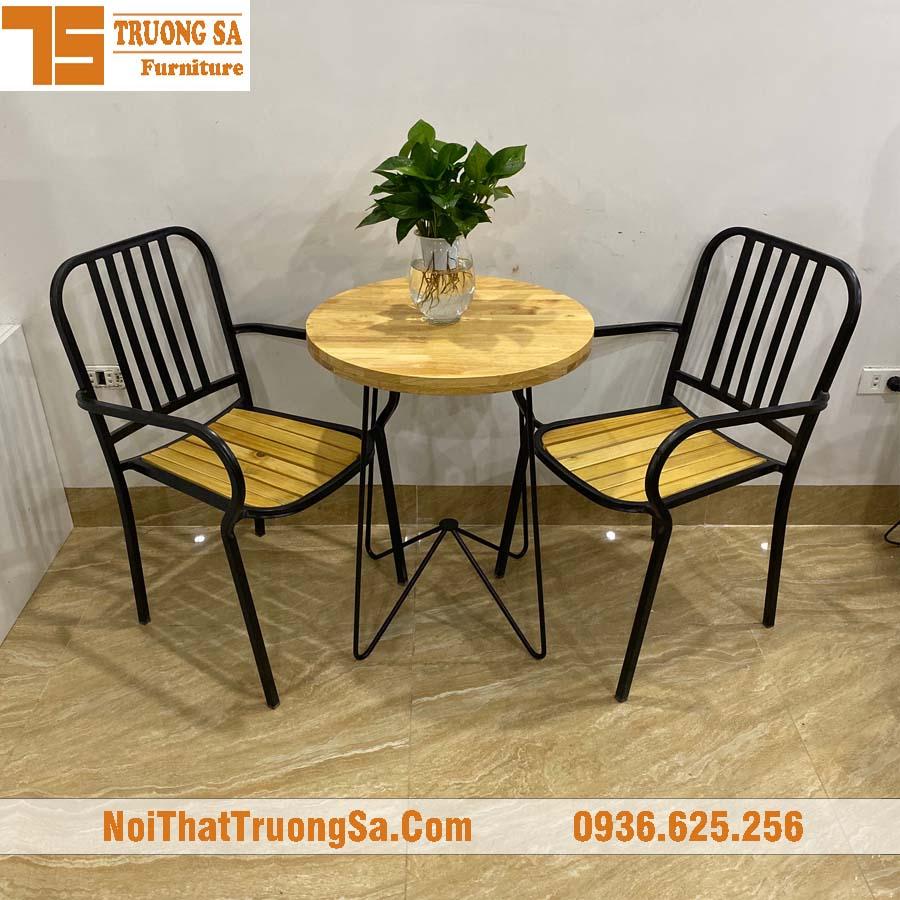 bàn ghế cafe TS275