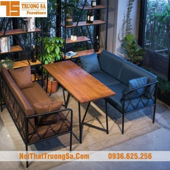 Bàn ghế cafe sofa TS327