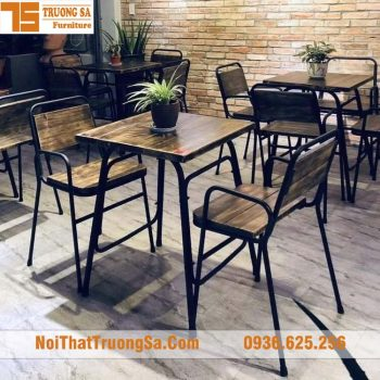 Bàn ghế cafe TS340