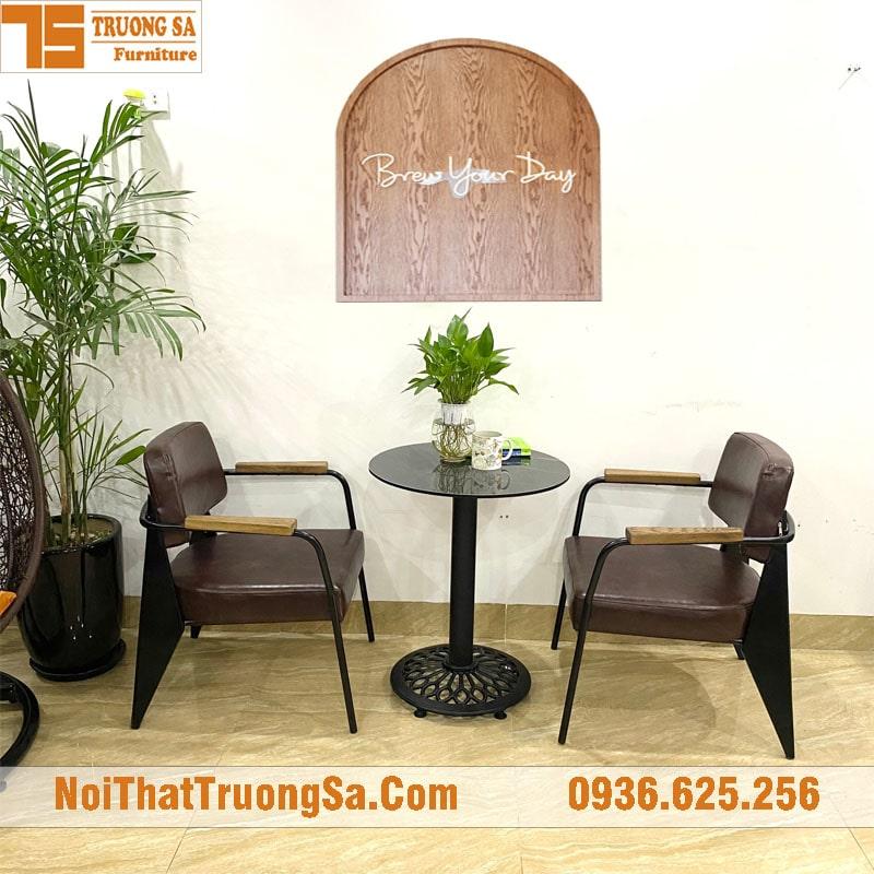 bàn ghế cà phê vintage TS609