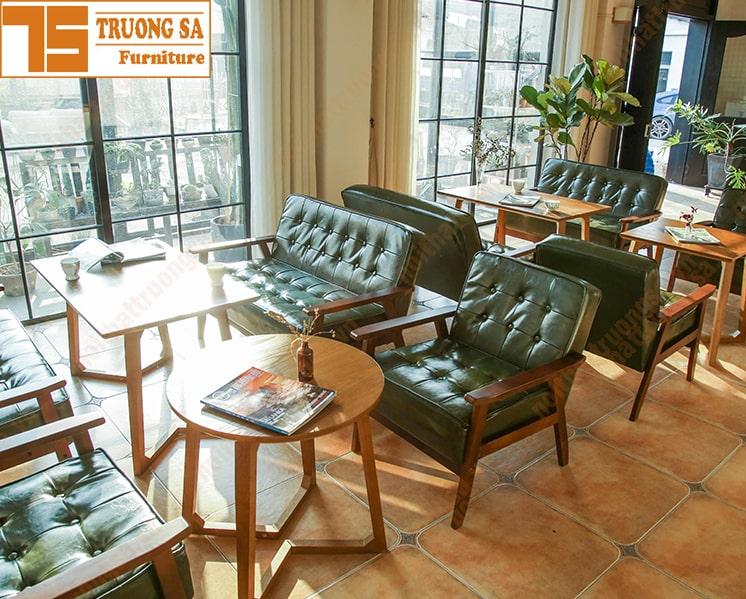 Bàn ghế sofa cafe TS362