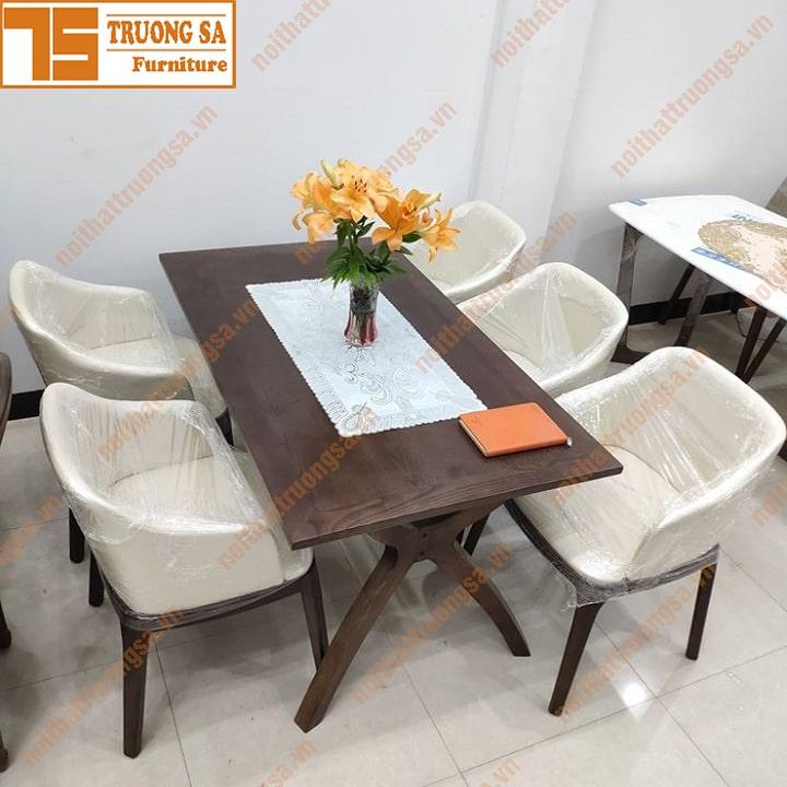 Bộ bàn ăn 4 ghế TS395