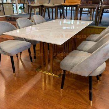 Bộ bàn ăn 6 ghế TS376