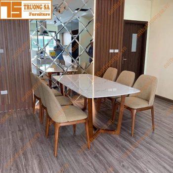 Bộ bàn ăn 6 ghế TS380
