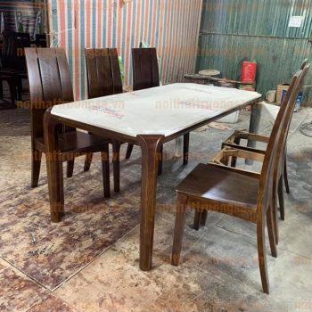 Bộ bàn ăn 6 ghế TS386