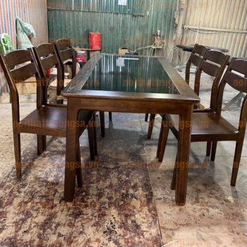 Bộ bàn ăn 6 ghế TS391