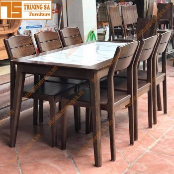 Bộ bàn ăn 6 ghế TS394