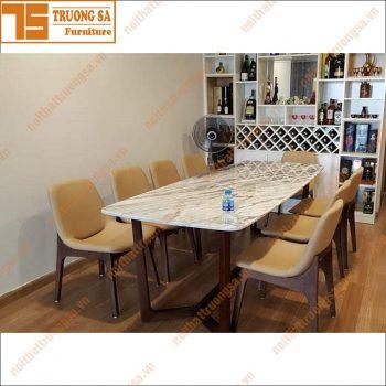Bộ bàn ăn 8 ghế hiện đại TS370