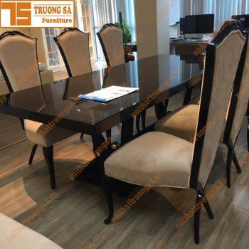 Bộ bàn ăn tân cổ điển TS381