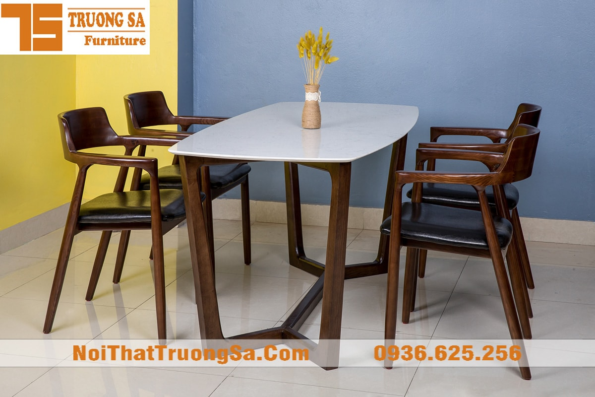 Bộ bàn ăn 4 ghế TS282