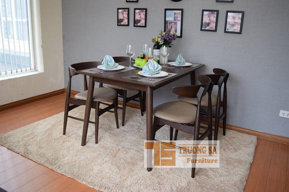 Bộ bàn ăn 4 ghế TS352