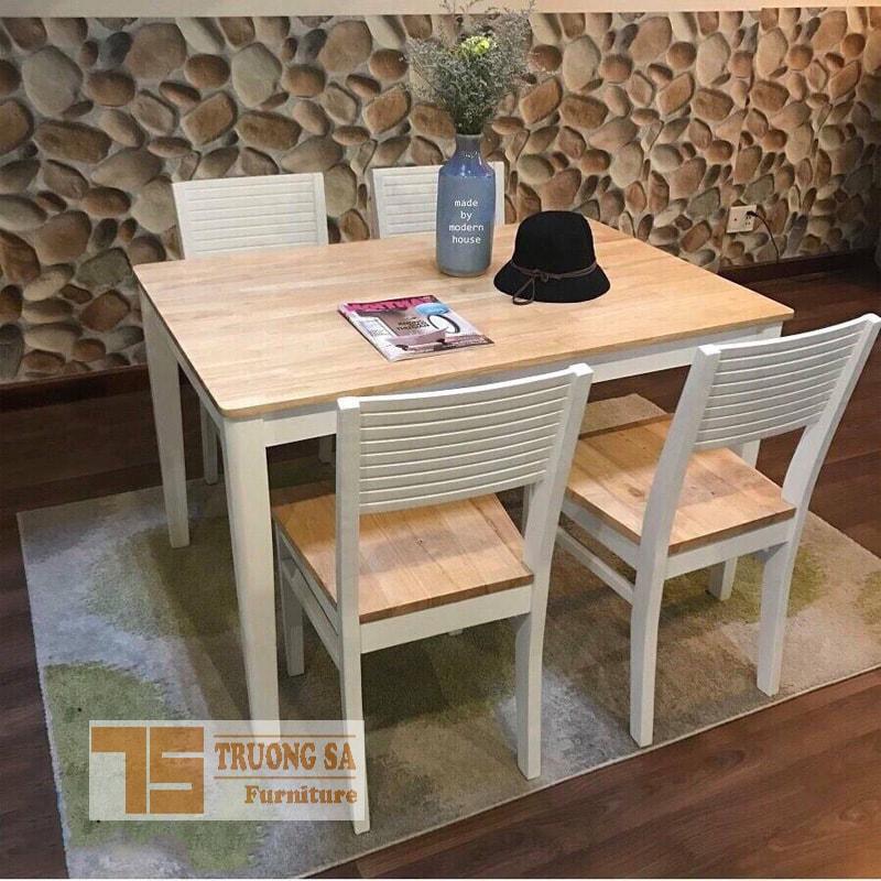 bộ bàn ăn 4 ghế TS354