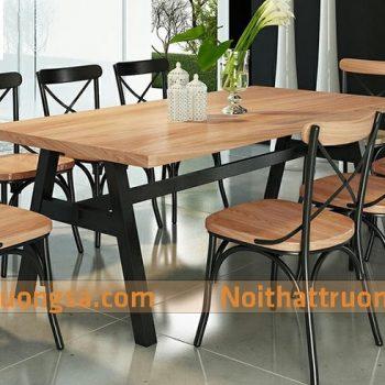 bàn ghế nhà hàng TS225