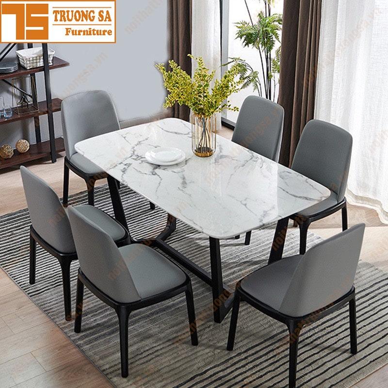 Bộ bàn ăn 6 ghế đẹp
