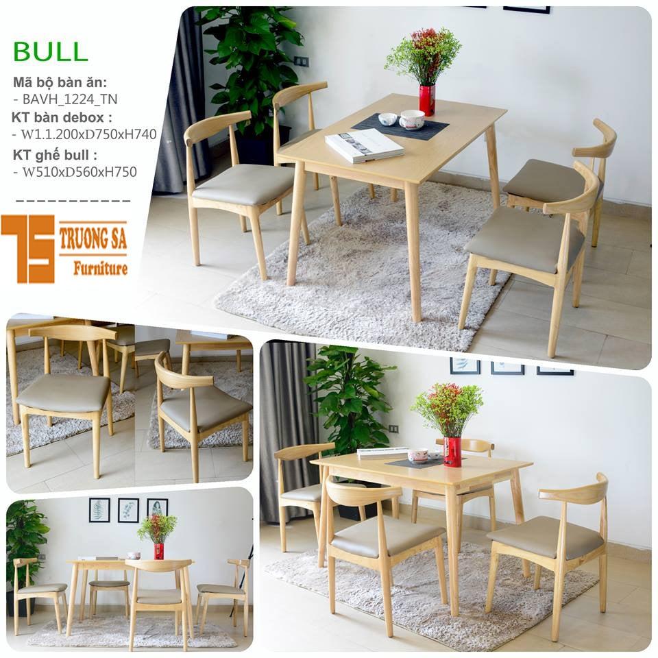 Bộ bàn ăn 4 ghế TS308