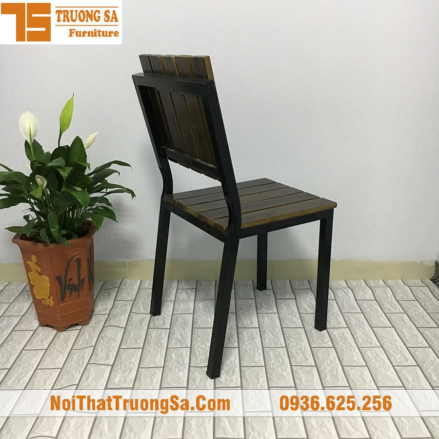 Ghế cafe khung sắt TS161
