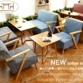 Bàn ghế sofa cafe TS09