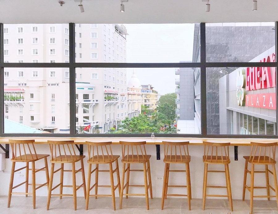 bàn ghế nội thất quán cafe