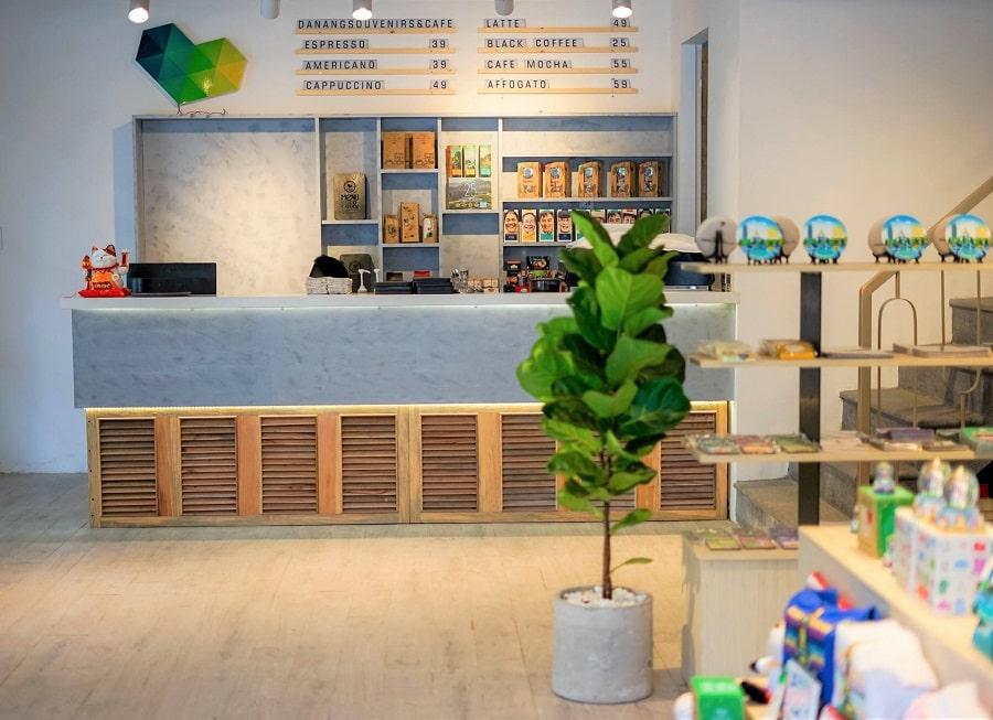 thiết kế và thi công quán cafe