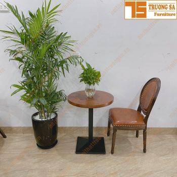 Bàn cafe chân sắt TS521