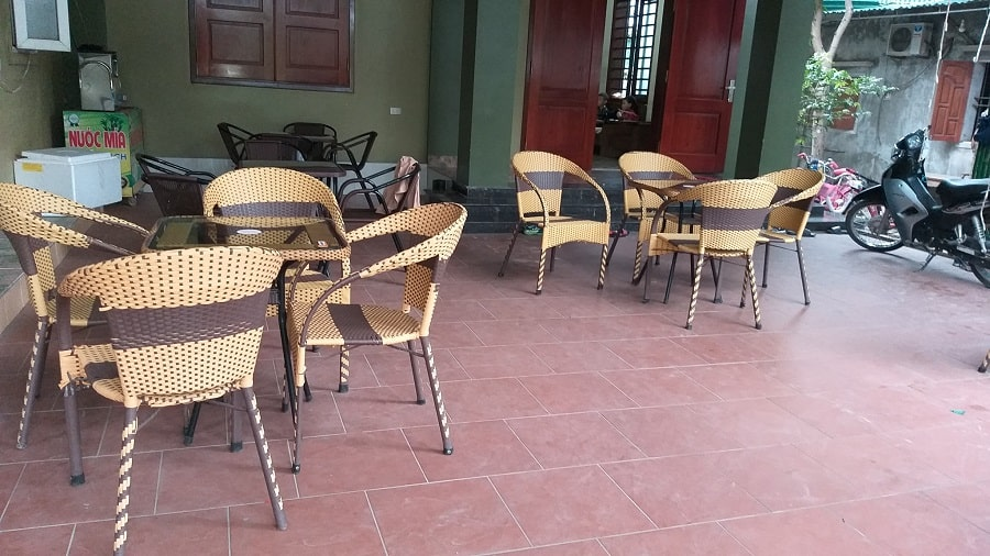 bàn ghế cafe thanh lý
