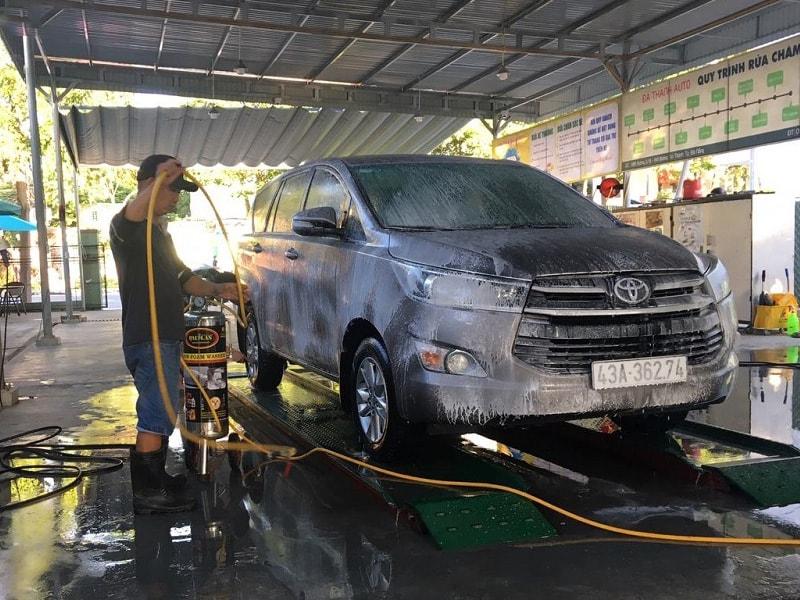 kinh doanh quán cafe kết hợp rửa xe