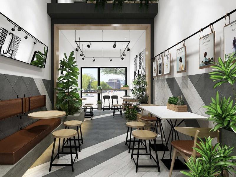 mô hình quán cafe nhỏ đẹp