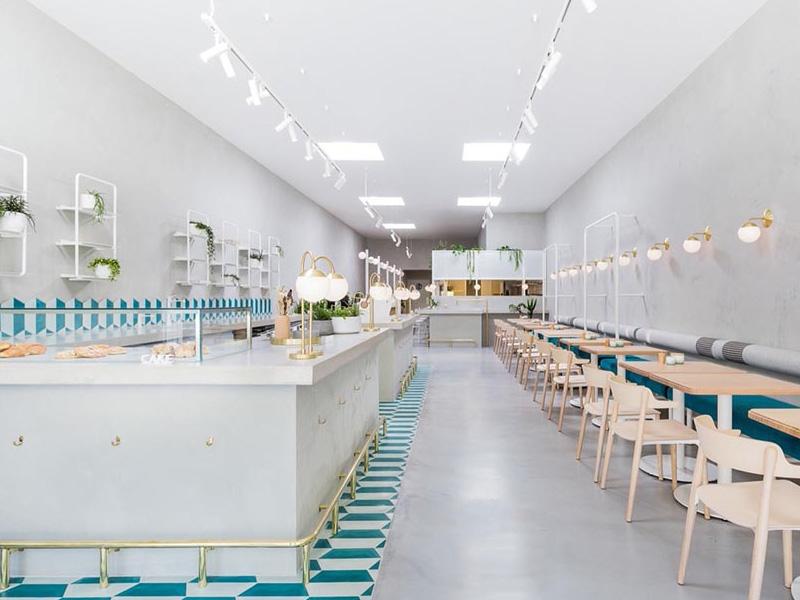 thiết kế quán cafe đẹp ngang 4m