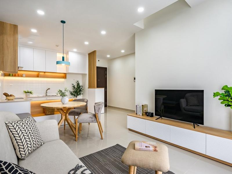 thiết kế phòng khách chung cư đẹp