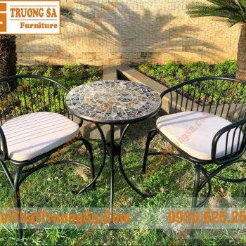 bộ bàn ghế ngoài trời xuất khẩu TS482