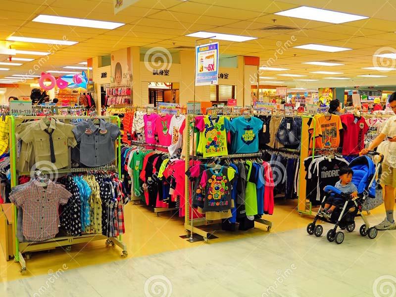 thiết kế nội thất shop quần áo