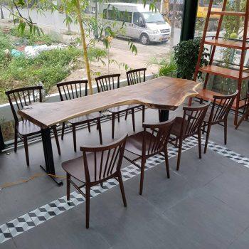 bàn gỗ nguyên tấm giá rẻ TS318
