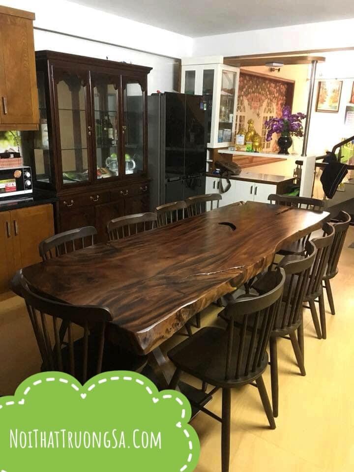 Giá bàn gỗ nguyên tấm TS320