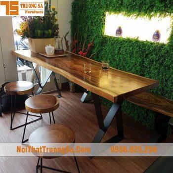 mặt bàn gỗ nguyên khối TS310