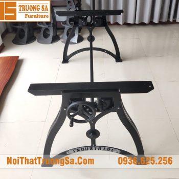 chân bàn gỗ nguyên khối đẹp TS601